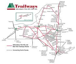 Bus Route Map Airports Trailways Of New York