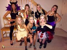 Cool Halloween Costumes Girls 20 Group Costumes Ideas Group