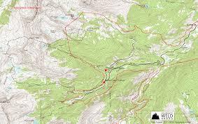 Colorado Lakes Map by Missouri Pass Fancy Pass Loop Colorado