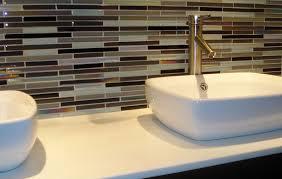Glass Tile Backsplash Ideas Bathroom Glass Tile Backsplash Ideas Bathroom Home Design Ideas