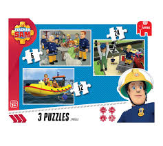 fireman sam trio puzzle phoenix
