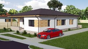 Three Bedroom House Plans Modern Bungalow House Design 3 Bedroom House Model A30 Youtube