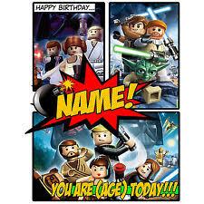 star wars birthday card ebay