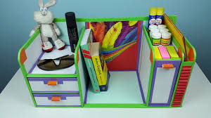 Desk Organizer Diy Diy Desk Organizer Drawer Organizer From Cardboard