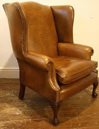 Leather Wingback Chair With Ottoman Design Ideas Chair Wingback Chair And Ottoman Leather Wingback Recliners For
