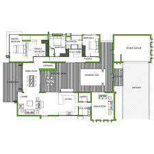 opulent design ideas modern 4 bedroom house plans south africa 12