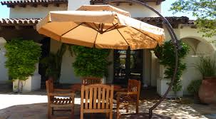Sunbrella 11 Ft Cantilever Umbrella by Patio U0026 Pergola Patio Cream Colored Canopy As Foot Umbrella With