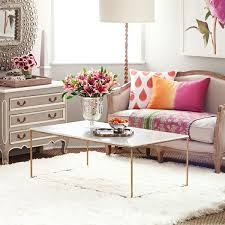 gold leaf collection coffee table wisteria