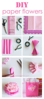 tissue paper flowers printable instructions how to make tissue paper flowers i heart nap time
