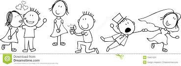 dessin mariage dessin animé de mariage image stock image 18451221
