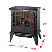 pleasant hearth 20 inches electric stove matte black walmart canada