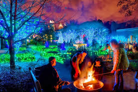 atlanta botanical gardens transformed into winter wonderland gac