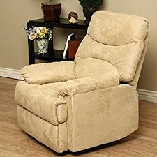 amazon com tucker camel recliner is a wonderful recliner chair