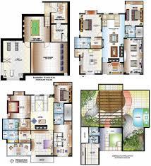 Bungalow Plans Twin Bungalow Floor Plans In India