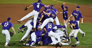 lsu baseball clinches college world series berth with blowout win