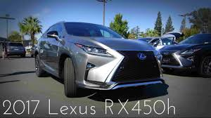 lexus sport models 2017 2017 lexus rx450h f sport hybrid review youtube