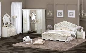 Schlafzimmer Hochglanz Beige Schlafzimmer Set Elena 6 Teilig In Beige Glanz