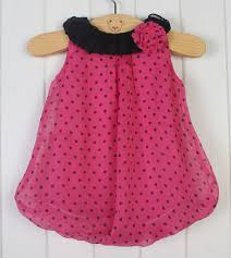 2014 new fashion leopard and dot summer baby dress