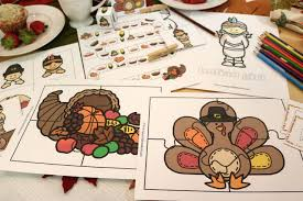thanksgiving activities for happy and blessed home