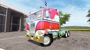 new kenworth cabover k100 cabover for farming simulator 2017