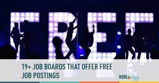 Job Seekers Resume Database Free by 19 Job Boards That Offer Free Job Postings