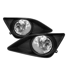 toyota corolla fog lights amazon com 09 10 toyota corolla oem style clear fog lights kit