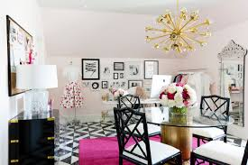 Pink Office Furniture by Pink White And Black Office Design Ideas