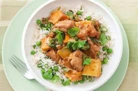 cuisine epinard curry de poulet aux pommes de terre et épinards recettes de