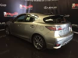 lexus ct200h f sport auto pre owned 2017 lexus ct 200h demo unit f sport series 2 4 door