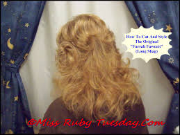 farrah fawcett hair cut instructions miss ruby tuesday the farrah fawcett haircut 2 youtube