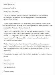 doc 585690 free termination letter template u2013 free termination