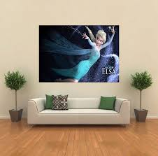 frozen elsa disney kids giant wall poster art print c008 ebay frozen elsa disney kids giant wall poster art