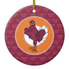 virginia tech hokies ornaments keepsake ornaments zazzle