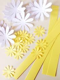 paper daisies tutorial u2014 only just becoming