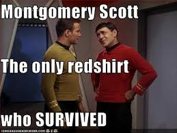Red Shirt Star Trek Meme - star trek monday 17