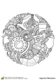 fall mandala coloring pages kids adults