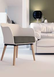 cali modern accent armchair with cushion
