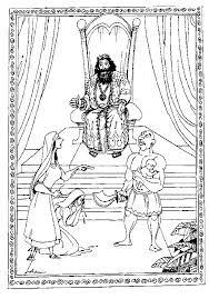 coloring page for king solomon king coloring pages or king coloring pages lion king coloring page