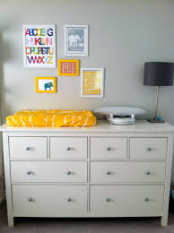Dresser Changing Tables by Baby Nursery Wooden Nursery Drawer Dressers As Changing Table