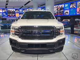 naias world exclusive first real life pics of the 2018 ford f