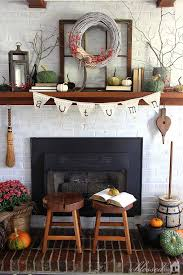 My Home Decoration 86 Best Decor Mantel Decorating Images On Pinterest Fall