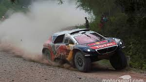 dakar cars stage 5 loeb extends lead with third win