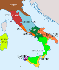 Map Of Tuscany Italy Genetic History Of Italy Wikipedia