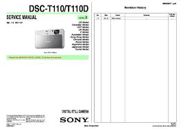 sony dsc t110 dsc t110d service manual page 5