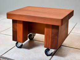 small wooden foot stool natural wooden stool