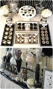 Wedding Dessert Table Black And White Wedding Dessert Table Uniquely Yours Wedding