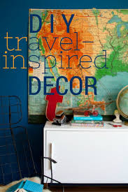Travel Bedroom Decor by 57 Best Diy Travel Inspired Crafts U0026 Travel Themed Home Decor