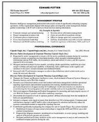 corporate resume format corporate resume template resume sle