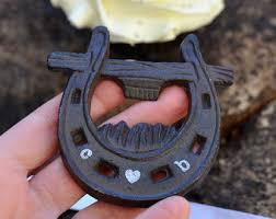 personalized horseshoes necklace etsy