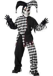 party city halloween clown costumes child evil jester costume escapade uk
